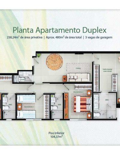 Leone Construtora – Mirante do Atlântico (Duplex)