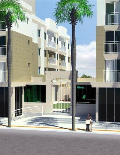 Leone Construtora – Portal dos Municípios (Fachada)